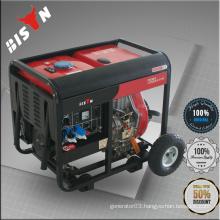 BISON CHINA TaiZhou 3kva Electric Start Portable Diesel Generator Kipor