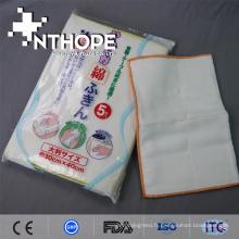 tapis de chiffon de cuisine en gaze imprimée 100% coton de haute qualité