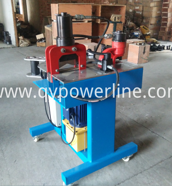 Multi-function Hydraulic Bas Bar Processing Machine