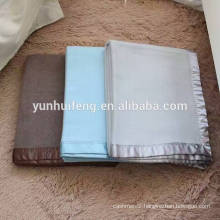 High quality very soft reversible cashmere blanket