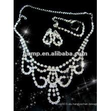 La última joyería nupcial de la boda fijó (GWJ12-523)