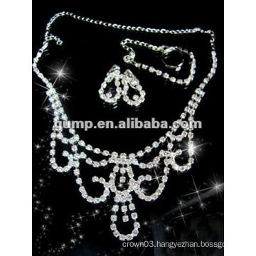 Latest bridal wedding jewelry set (GWJ12-523)