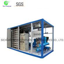 Estación de llenado de LNG de 0-220lmin