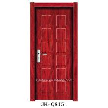 Projeto de porta de madeira interior de melamina 2013