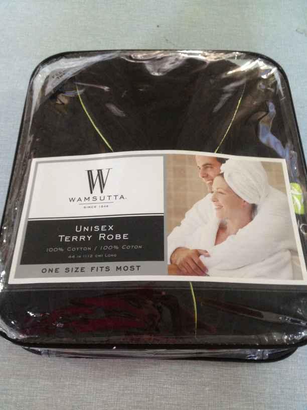 PVC Bag Gift Box Luxury Cotton Towelling Bathrobe