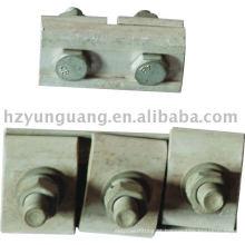 braçadeira de ranhura paralela linha de encaixe de encaixe de cabo de emenda