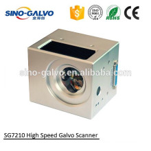 Best Price 1064nm SG7210 digital galvo scanner for CO2 laser marker/110mm*110mm working area for leather engraving and cutting