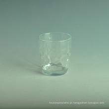 Copo de vidro da água bebendo de 350ml