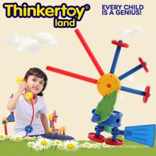 Brinquedos de plástico DIY Bird educativos para crianças Brinquedos de construção