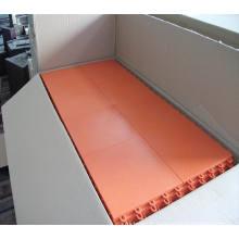 Plancher de sport de haute qualité Maunsell Interlock, plancher de verrouillage en PP