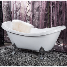 Classic Bathtub on Discount/Free Standing Soaking Bathtub/Vintage Bathtub