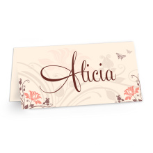 Cartão de visita com logotipo e texto