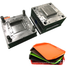 manufacturing plastic tray mold design custom precision aluminum plate injection mould