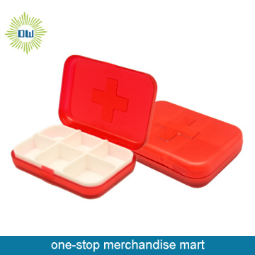 Plastic Pill Common Medicine Box