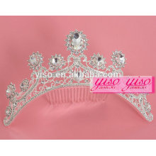 dress decorative custom princess wedding tiara bridal hair combs