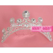 Vestido decorativo personalizado princesa casamento tiara penteado de cabelo nupcial