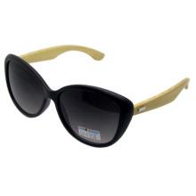 Привлекательный дизайн моды бамбуковых солнцезащитных очков (SZ5758)