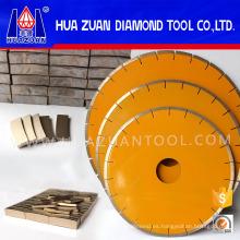 Sierra de piedra de diamante de 400 mm para mármol