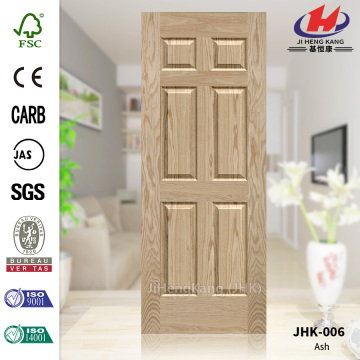 Six Panels  Ash Bedroom Door Panel