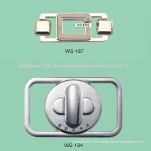 Etiqueta para Bolsas, Aleación de zinc Logo