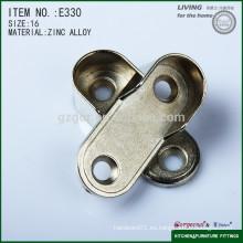 La alta calidad fija la ayuda oval de la pipa del guardarropa de la aleación del cinc