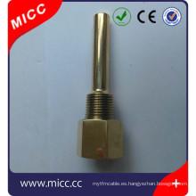 Cubierta de termopar MICC, tubo de protección de sonda