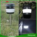 Luz solar del césped Luces del camino del jardín con la luz solar al aire libre al aire libre del repuesto del mosquito