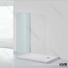 Receveur de douche à surface solide en marbre Stone Deep
