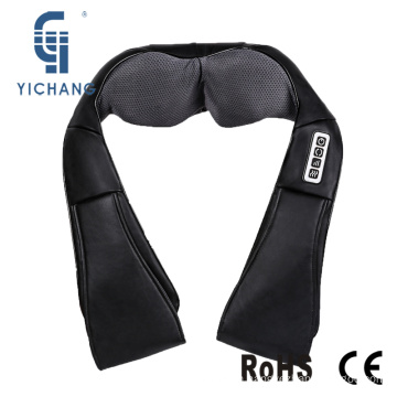 Easy operation neck shoulder shiatsu massage property belt with heat