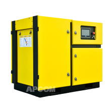 APCOM 2020 hot sale speed 45KW 60HP rotary screw air compressor yellow color