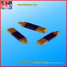 Präzisionsstempel Großbritannien Stecker Messing Pins (HS-BS-01)