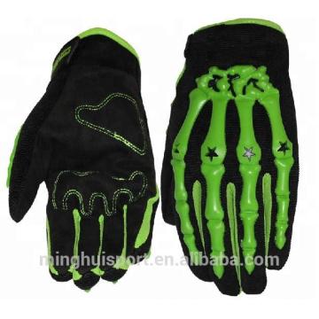 OEM Custom logo Motorrad Mountainbike Radfahren Handschuhe weiche Vollfinger-Auto-Racing-Handschuhe
