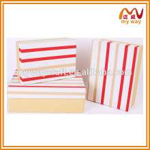 Manufacturers wholesale packing gift box, flat square gift box