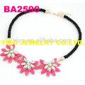 best designer flower necklace