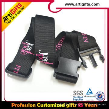 Cordón ajustable cordón de impresión por sublimación personalizado cordón