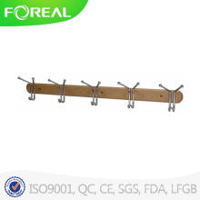 Modern Wooden Base Clothes Hook