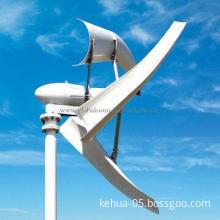 3D Wind Turbine with Low-wind Speed and 300-8,000W Power Capacity Available