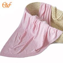 Manta de bebé recién nacido de bambú para el verano