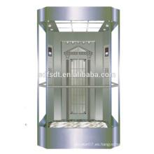 Ascensor, cerradura, panorámico, elevador