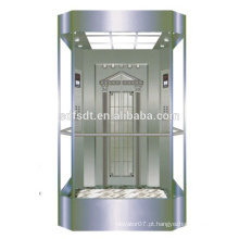 Elevador, fechadura, panorâmico, elevador