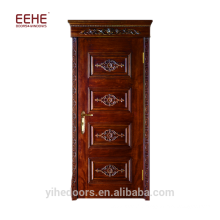 Foshan broderie diyar kail porte de la chambre à coucher en bois