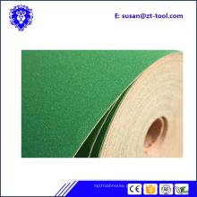 rolo de papel de areia abrasivo