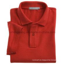 Algodón Camiseta de manga corta para adultos, Polo