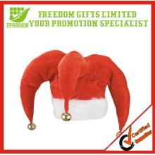 Sombrero barato de la Navidad de la alta calidad de la Navidad del 100% Polyester