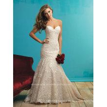 Novia de encaje vestido de novia vestido de sirena de la boda