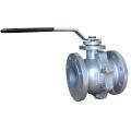 Válvula de bola de doble brida de hierro fundido, JIS 10k / 16k