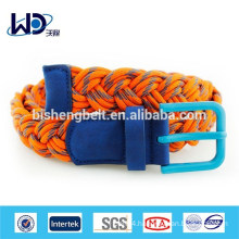 Factory Made Handcraft Cotton Rope Belt