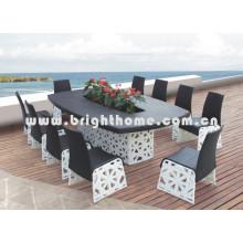 Плетеная мебель Садовая мебель Председатель и стол