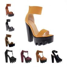 Nueva señora Summer Sandals del alto talón del diseño (S06)