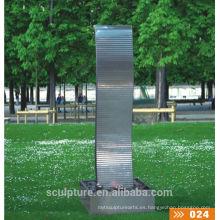 Escultura de la fuente de la burbuja
